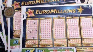 Des grilles pour le jeu Euro Millions