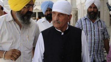 Le ministre pakistanais des chemins de fer, Ghulam Ahmed Bilour, le 19 mai 2011