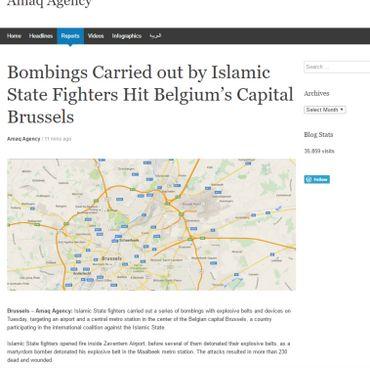 Attentats revendiqués par l'Etat islamique: bilan provisoire de 30 morts