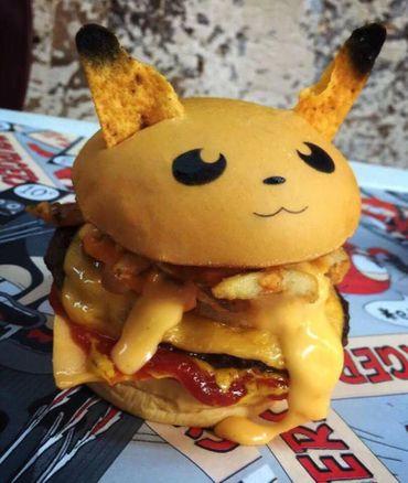 Un fast-food australien propose des burgers en forme de Pokémon