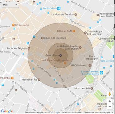 Quels dégâts si la mère de toutes les bombes, la GBU-43/B, était larguée sur Bruxelles?
