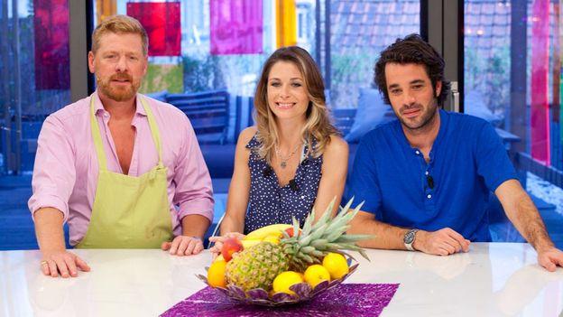 Gerald, Joëlle et Adrien
