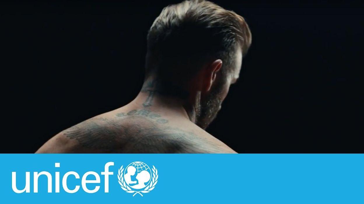 David Beckham: Violence can mark children forever | #ENDviolence David Beckham