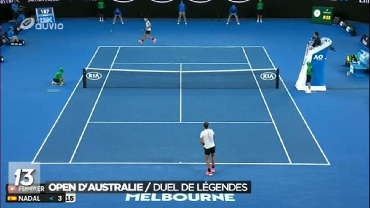 Federer dompte Nadal à Melbourne et s'offre son 18e Grand ...
