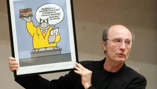 Philippe Geluck, l'échappée belge