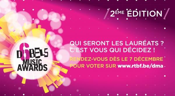 Votez bientôt pour les D6bels Music Awards...