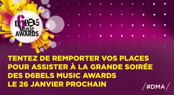 Assistez à la cérémonie des D6bels Music Awards !