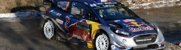 WRC live stage - Monte Carlo