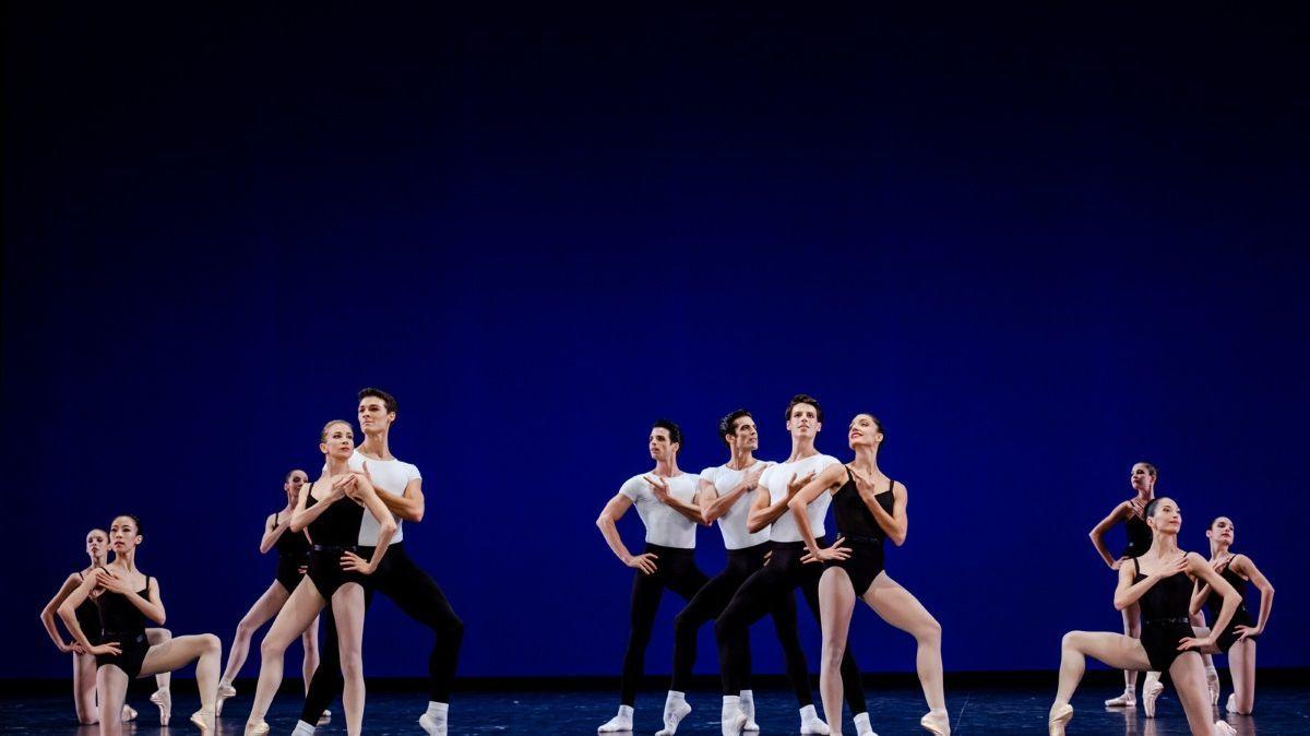 """""""Agon"""" de Balanchine/Stravinsky"""