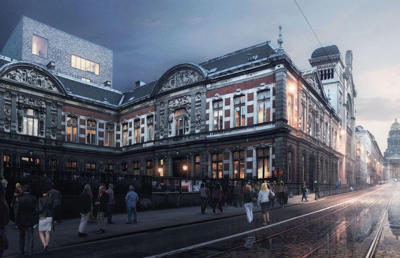 Société Générale De Rénovation Batiment Bruxelles une étape décisive dans la rénovation du conservatoire royal