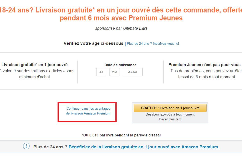 Amazon Premium L Abonnement Force