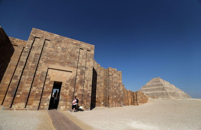 La Plus Vieille Pyramide D Egypte Restauree Et Ouverte Au Public