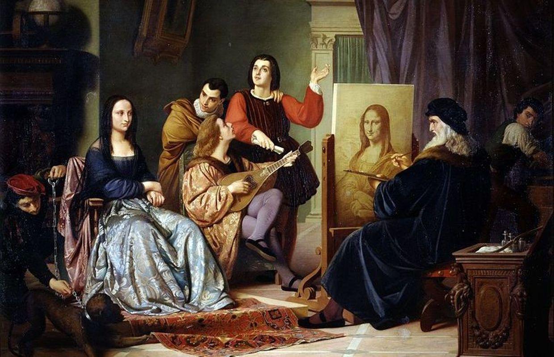 Leonard De Vinci Scientifique Ingenieur Inventeur Peintre Poete Et Musicien