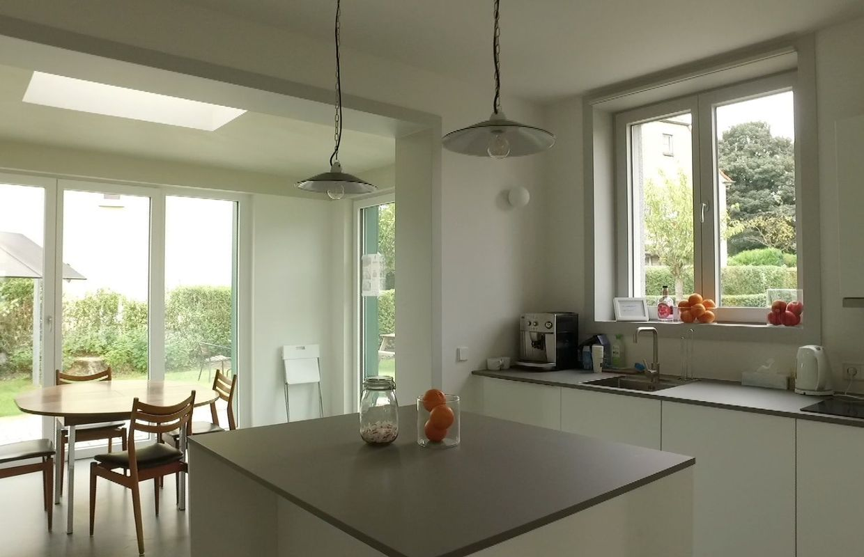 Nouvelle maison contemporaine en brabant wallon - Architecte de jardin brabant wallon ...