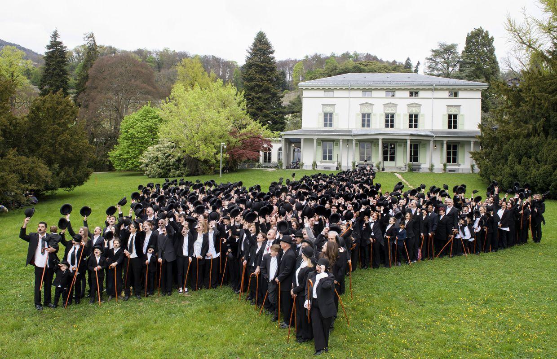 Suisse : 662 personnes déguisées en Charlot, un record