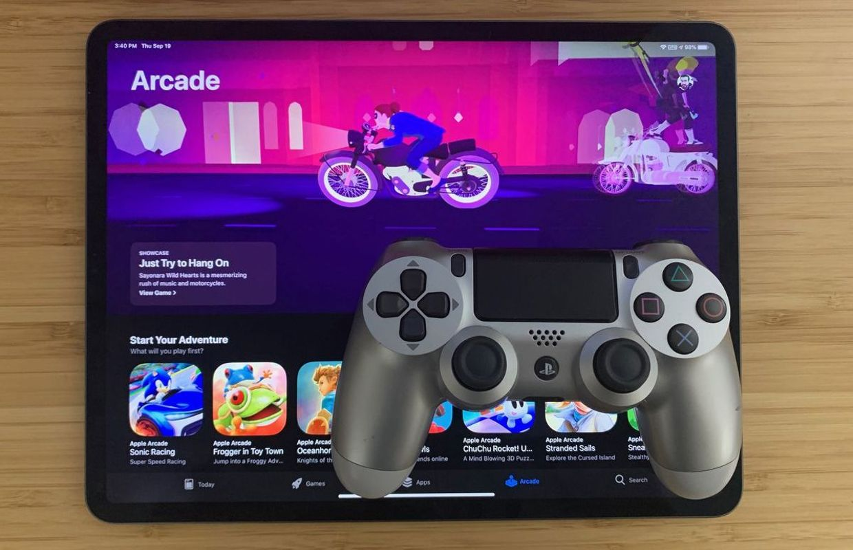 half off in stock best sell Apple Arcade : Comment connecter une manette PS4 ou Xbox à ...