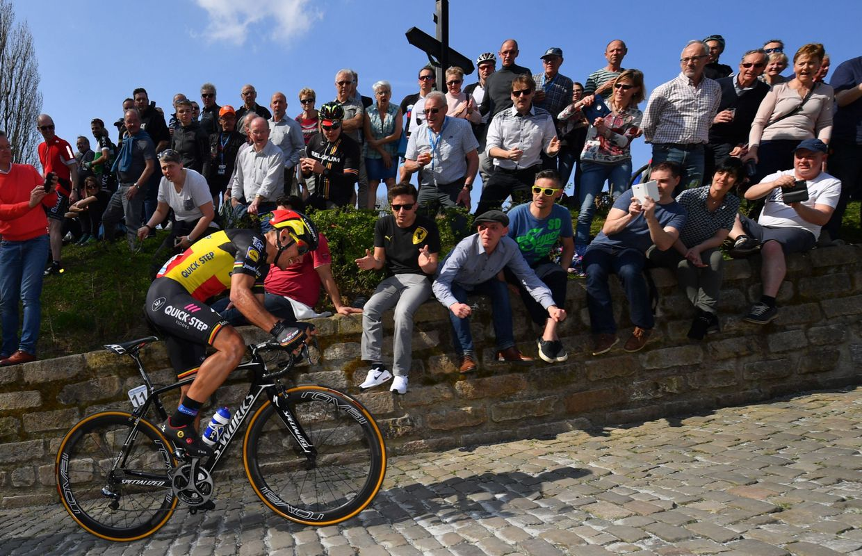 Tour des Flandres: Gilbert au bout d'un long raid solitaire