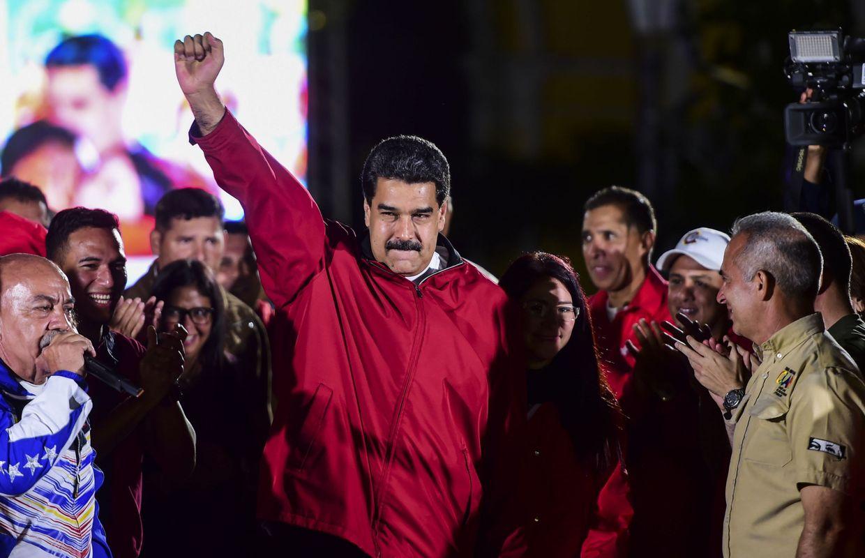 Trump tient Maduro