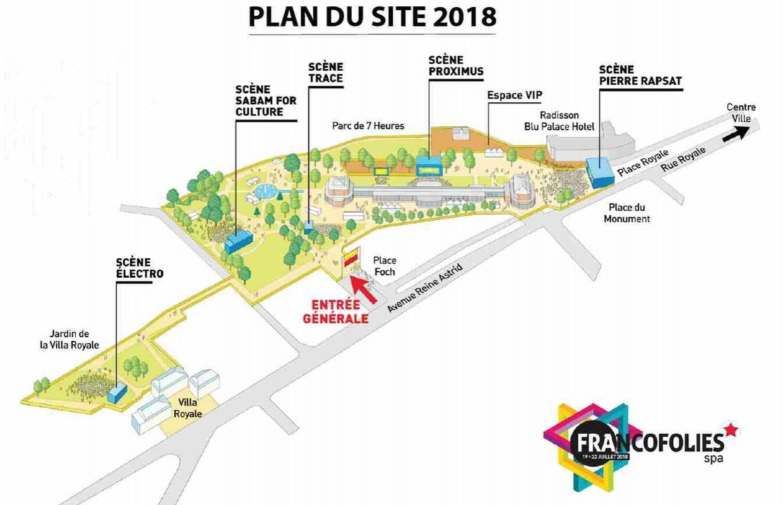 festival francofolies 2018