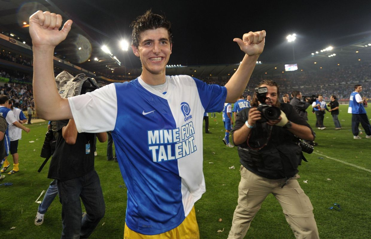 Thibaut Courtois, the linear climb to the peaks