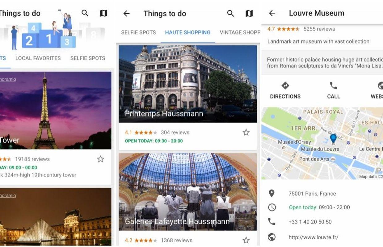 google lance google trips un planificateur de voyage. Black Bedroom Furniture Sets. Home Design Ideas