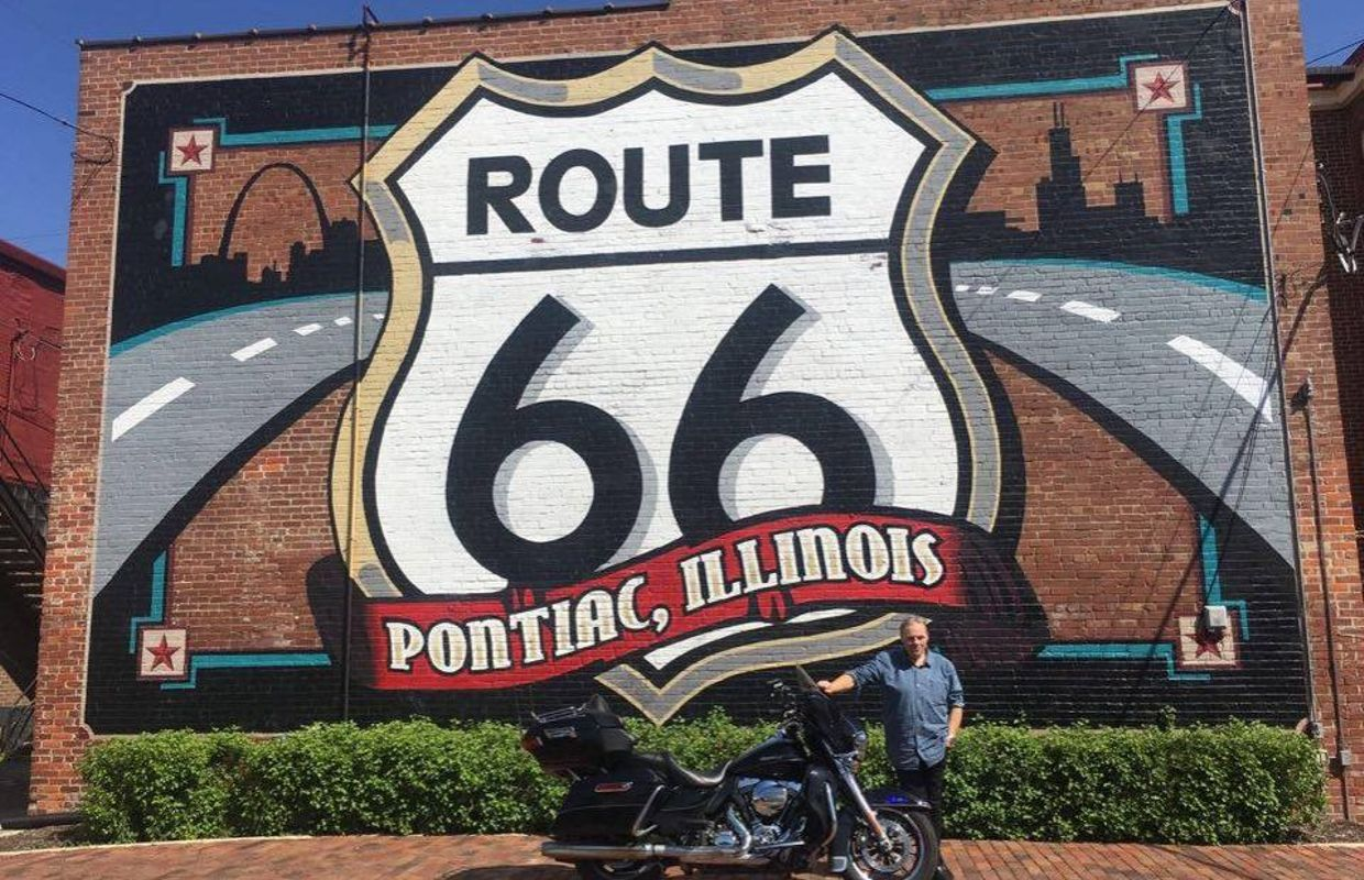 la route du blues 2016 jour 10 bloomington route 66 milwaukee il. Black Bedroom Furniture Sets. Home Design Ideas