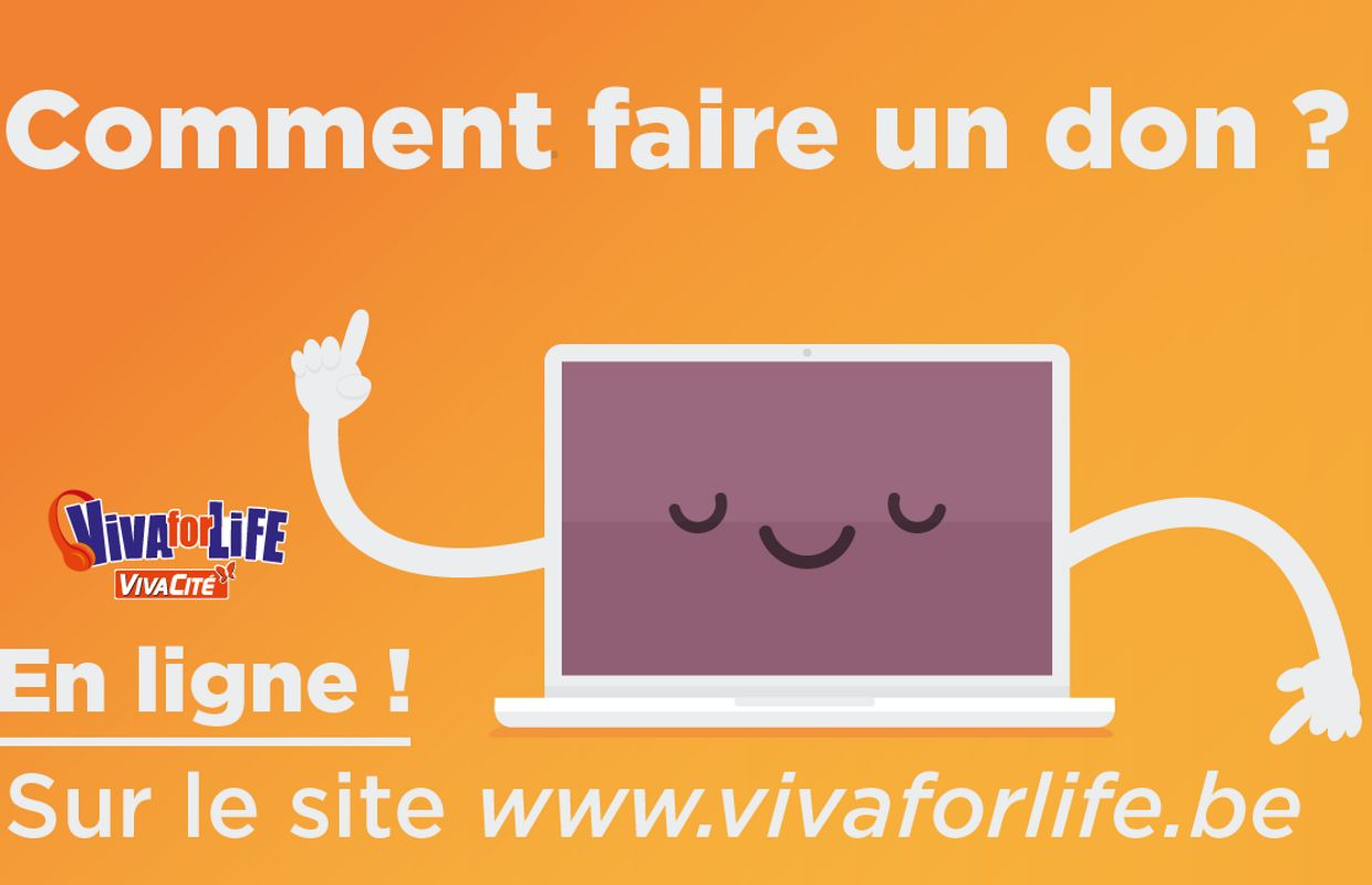 comment faire un don pour soutenir viva for life ?