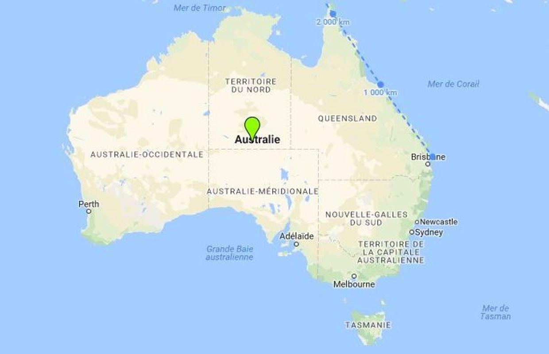 Carte Australie Grande Barriere De Corail.Un Gasteropode Geant Pour Defendre La Grande Barriere Contre