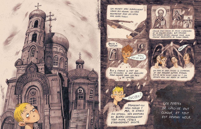 Haïkus De Sibérie Les Mentors Le Neuvième Art Aujourd Hui