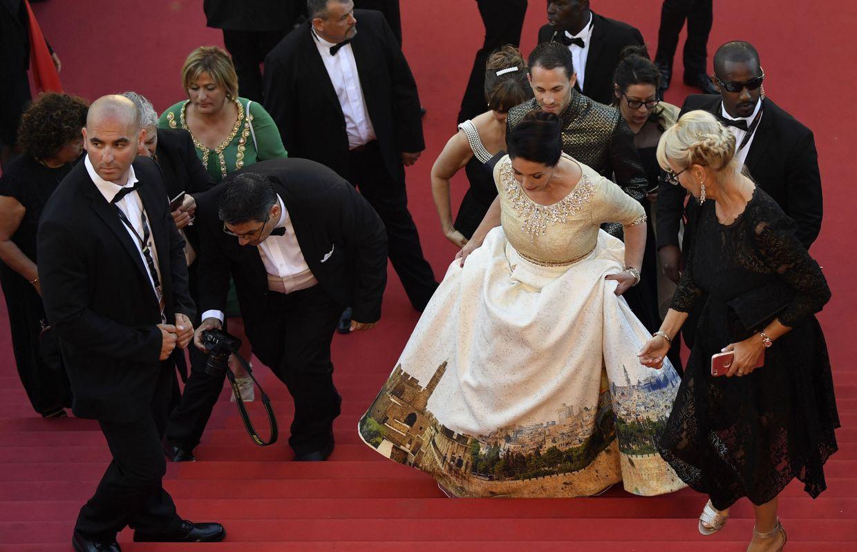 Photo du jour. La provocation d'une ministre israélienne d'origine marocaine à Cannes