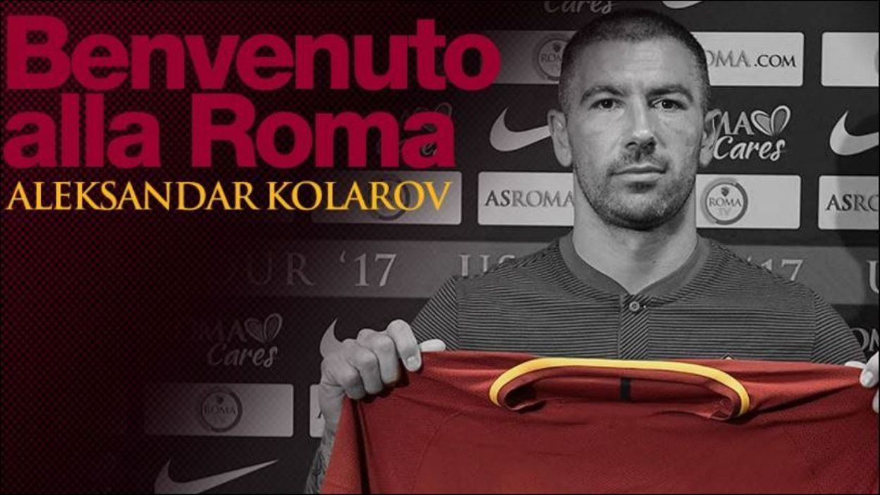 Maillot Extérieur ROMA ALEKSANDAR KOLAROV