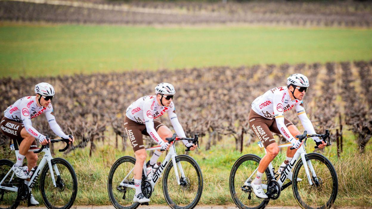 14h28 Circuit Het Nieuwsblad : AG2R dévoile sa sélection - RTBF