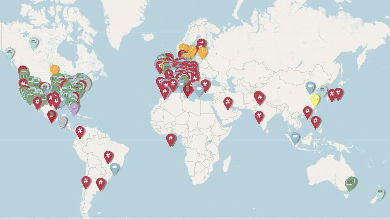 Une carte virtuelle répertorie les initiatives digitales des musées face à la pandémie