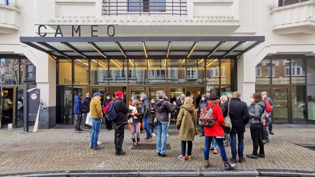 Info Coronavirus : le Caméo de Namur a rouvert ses portes pour défendre la culture - RTBF