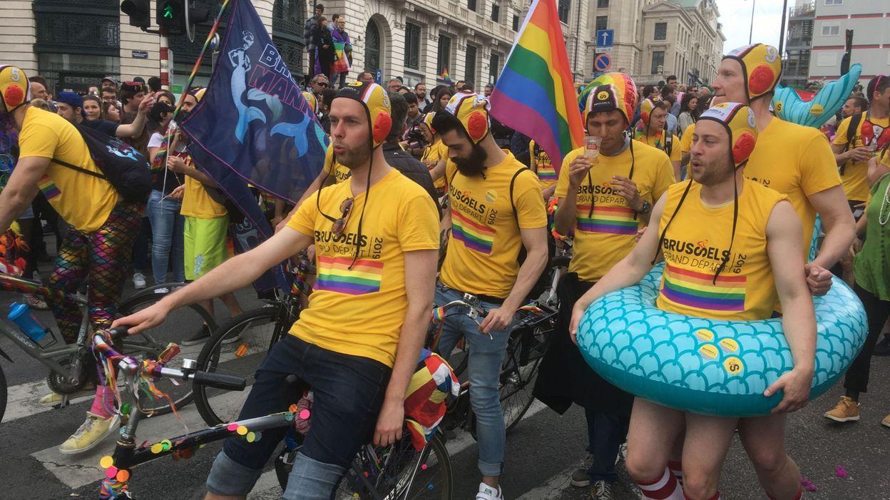 Gay Pride: plus de participants selon les organisateurs