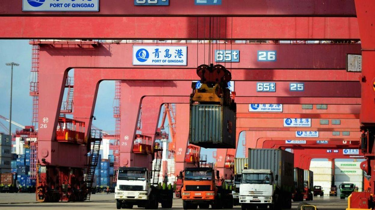 Chine douche froide pour le commerce ext rieur en septembre for Commerce exterieur belgique