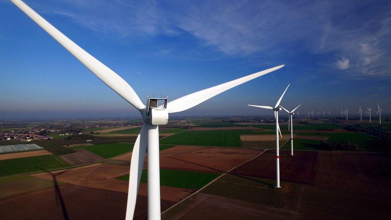 En février, les éoliennes belges ont tourné à plein régime: merci Ciara et Denis?