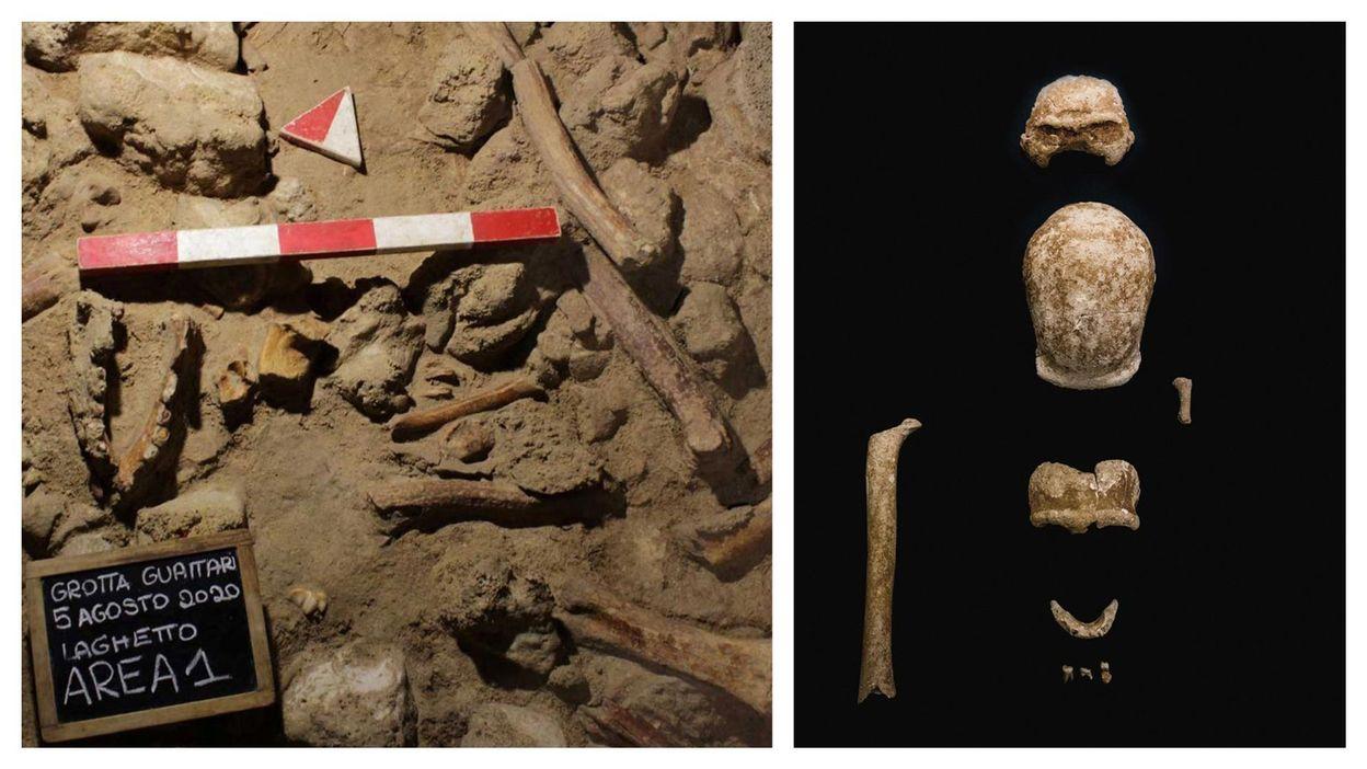 Archéologie : les restes de neuf Néandertaliens découverts dans une grotte italienne (photos)