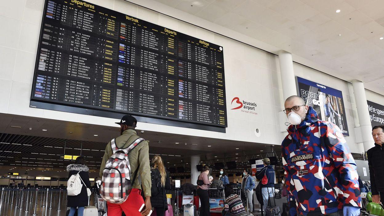 Coronavirus : contrôle de température systématique pour tous les passagers à Brussels Airport