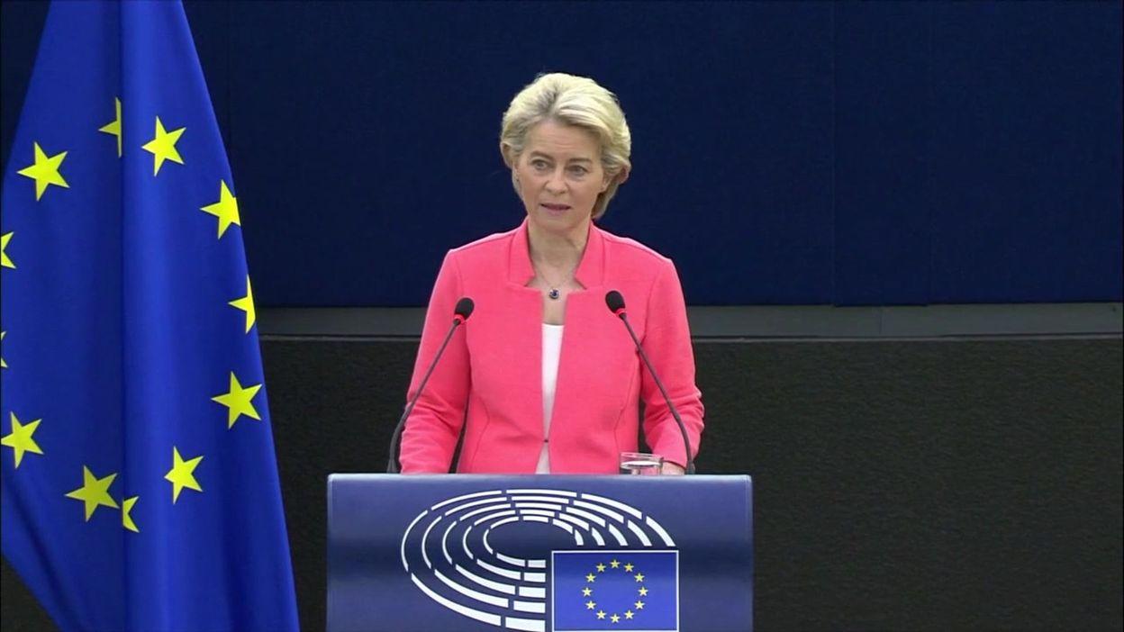 Climat, pandémie, économie, biodiversité : ce qu'il faut retenir des propos d'Ursula von der Leyen lors de l'État de l'Union