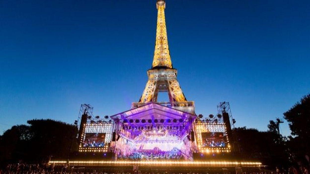 Le Concert Du 14 Juillet En Direct De La Tour Eiffel