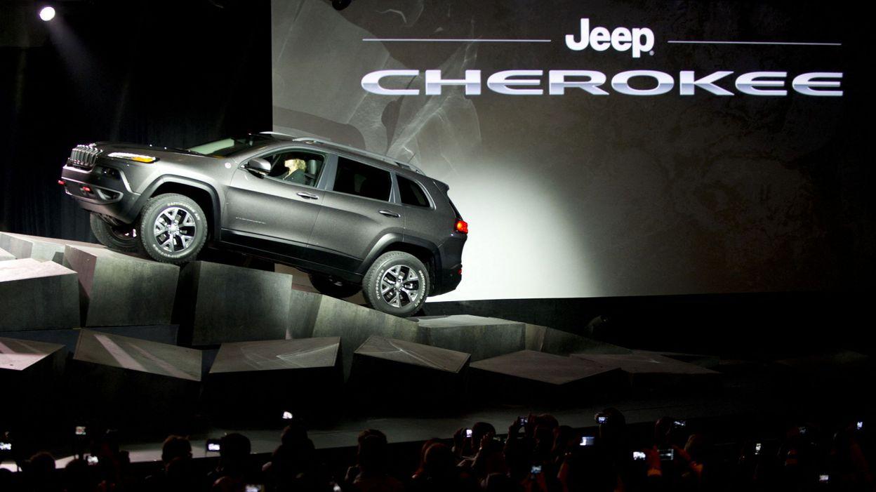 11h39 Les indiens Cherokees ne veulent plus d'une Jeep à leur nom - RTBF