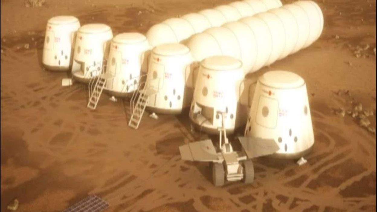 Info Des cyanobactéries pour aider les hommes à survivre sur la planète Mars - RTBF