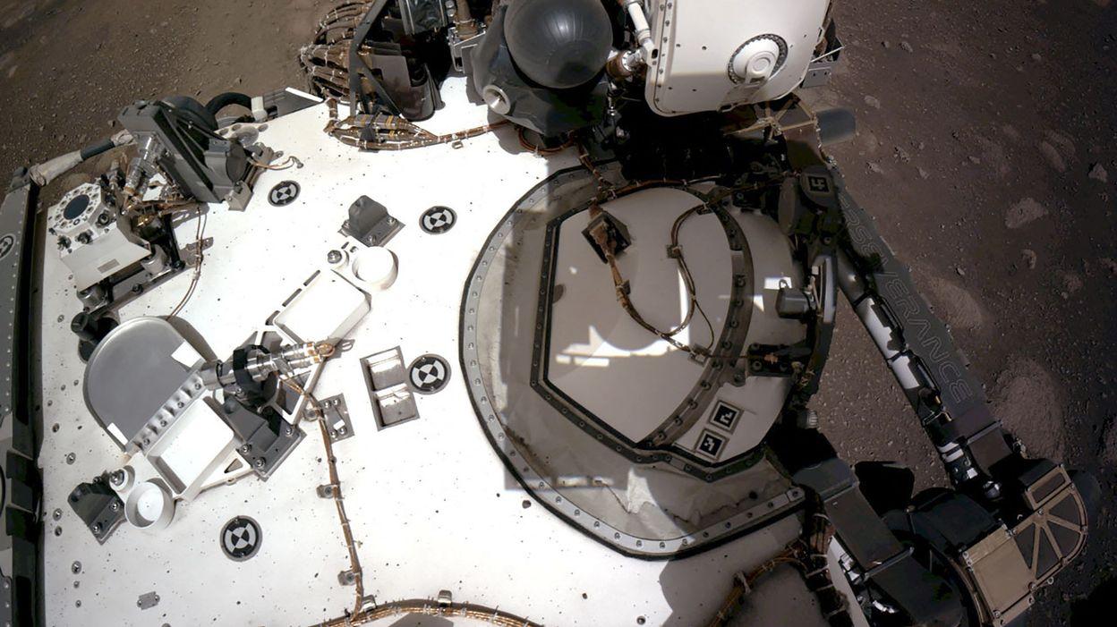 MONDE La Nasa publie la première vidéo de l'atterrissage du rover Perseverance sur Mars - RTBF