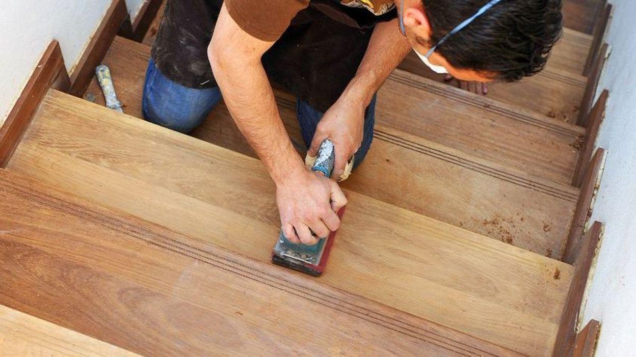 Poncage Escalier En Bois cocoon : comment restaurer un escalier en bois