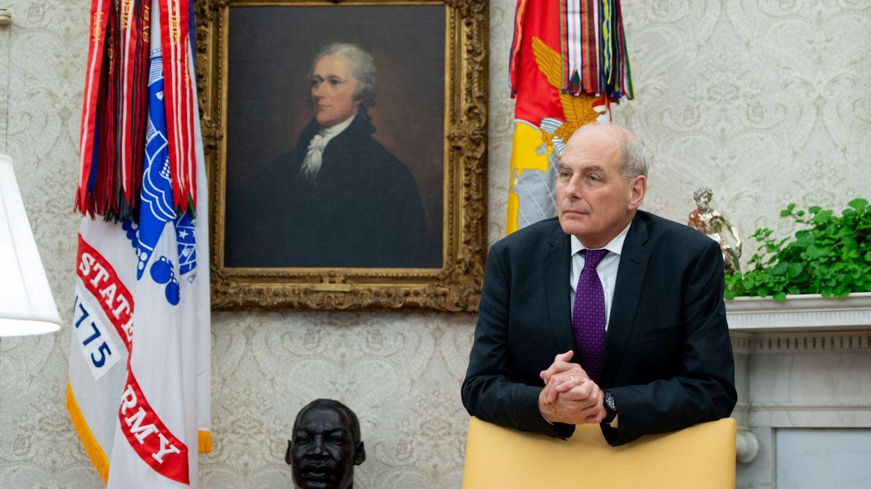 27f5dd0db7 Trump annonce le départ de John Kelly, secrétaire général de la Maison  Blanche