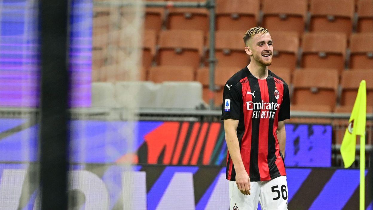 L'AC Milan tient bon en s'imposant face à l'Hellas Vérone, Saelemaekers passeur décisif - RTBF