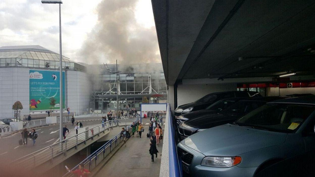 Bruxelles explosions zaventem l 39 a roport est ferm for Salon bruxelles novembre 2017