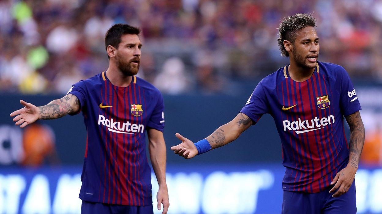 Mercato : le vide laissé par Neymar pousserait-il Messi vers Manchester City ?(photos)