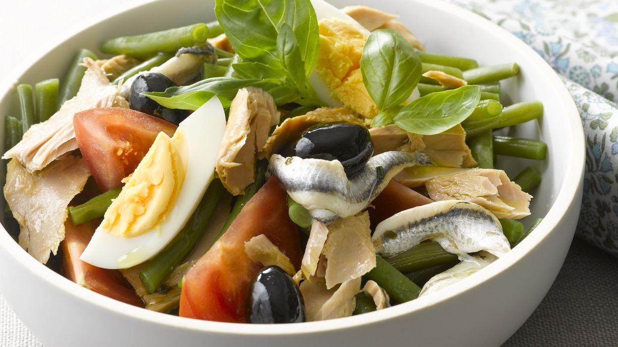 Recette : Salade niçoise